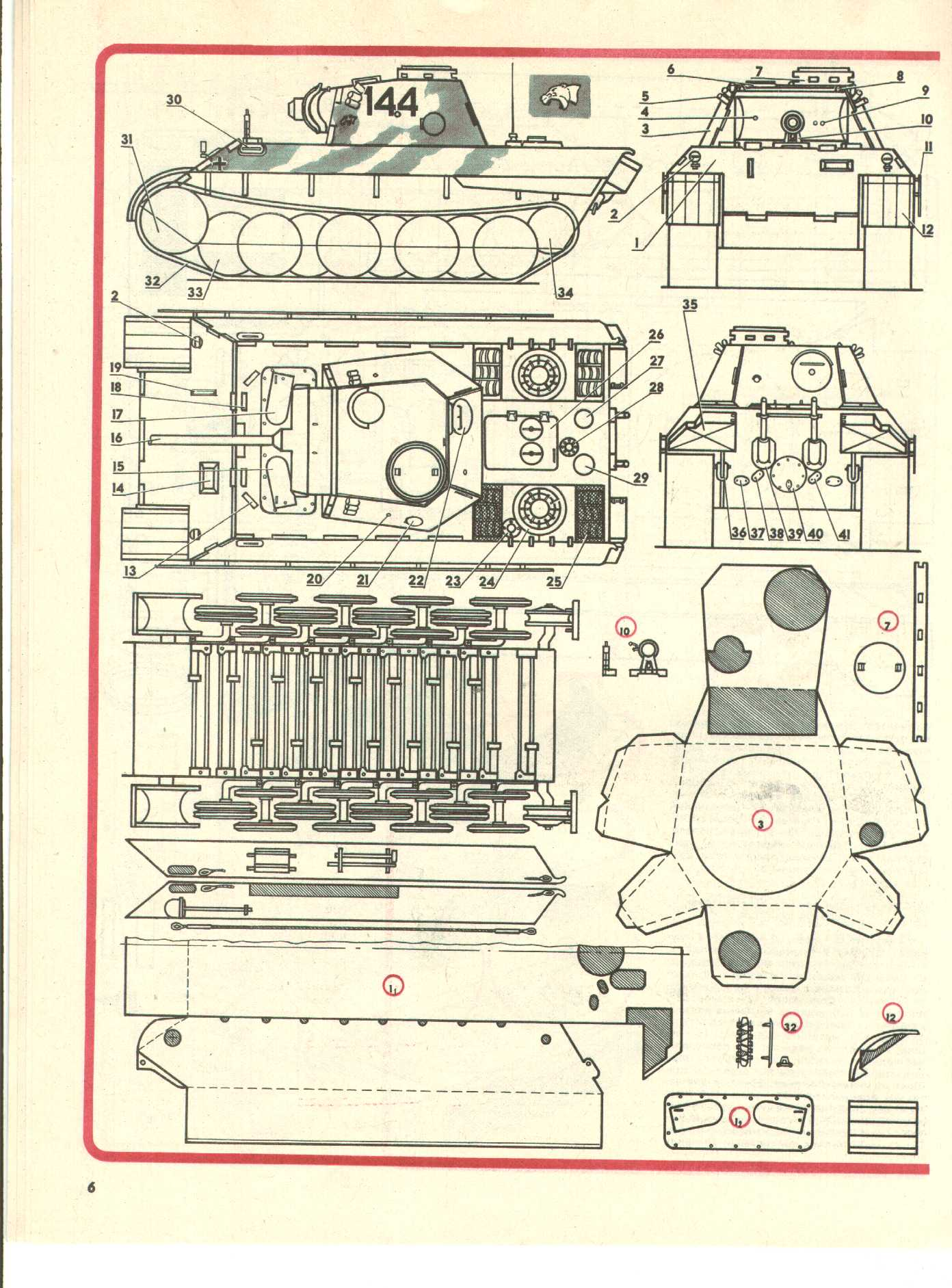 Макет т-34 своими руками 31