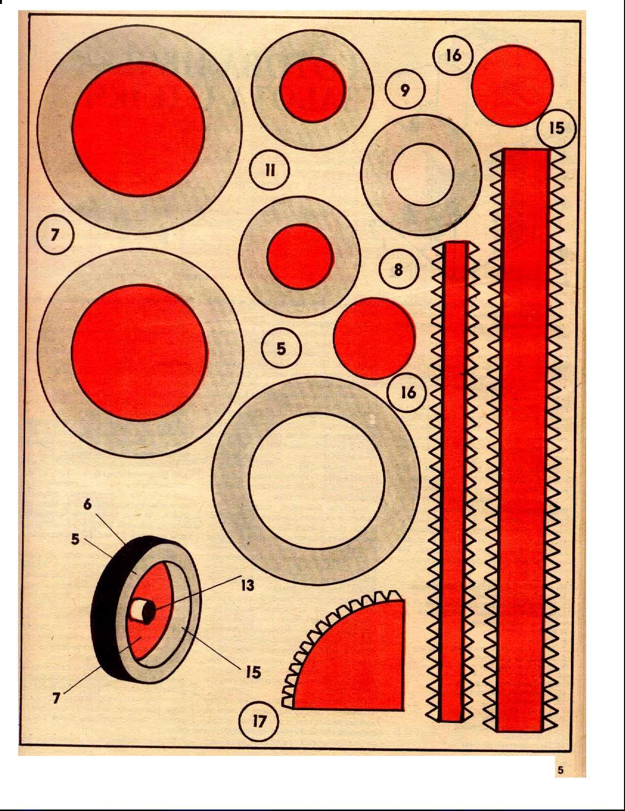 МТЗ-80 или. - Как сделать модели из бумаги и картона 4