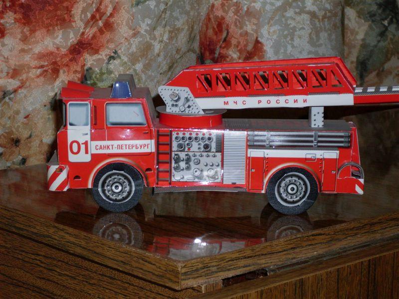 Как своими руками сделать пожарную машину из